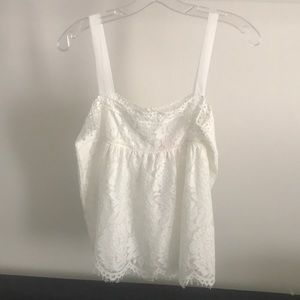 White Cami lace top